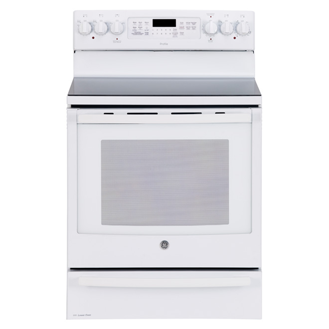 Electric Convection Range - 7.2 cu. ft. - White