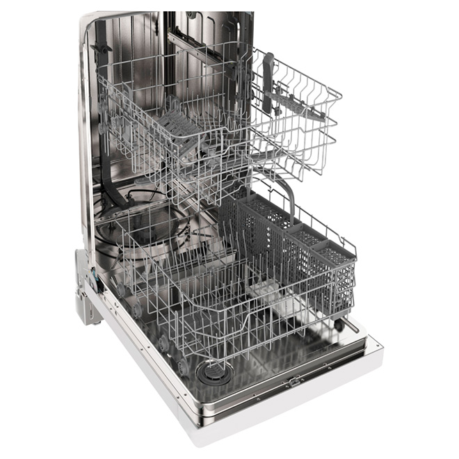 "Dishwasher with CleanSensor - 24"" - White"