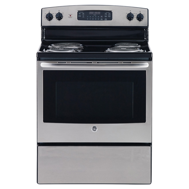 "Freestanding Electric Range - 30"" - Stainless Steel"