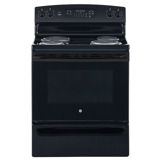 "Freestanding Electric Range - 30"" - Black"