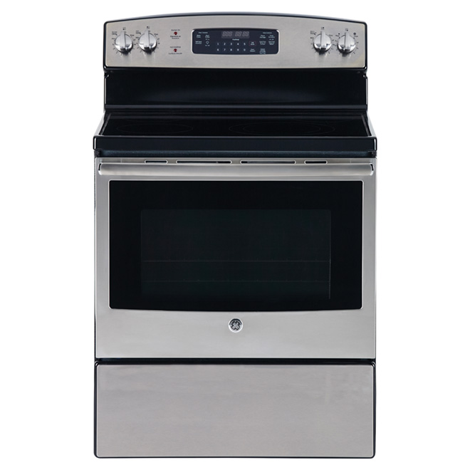Freestanding Electric Range - 5 cu. ft. - Stainless Steel