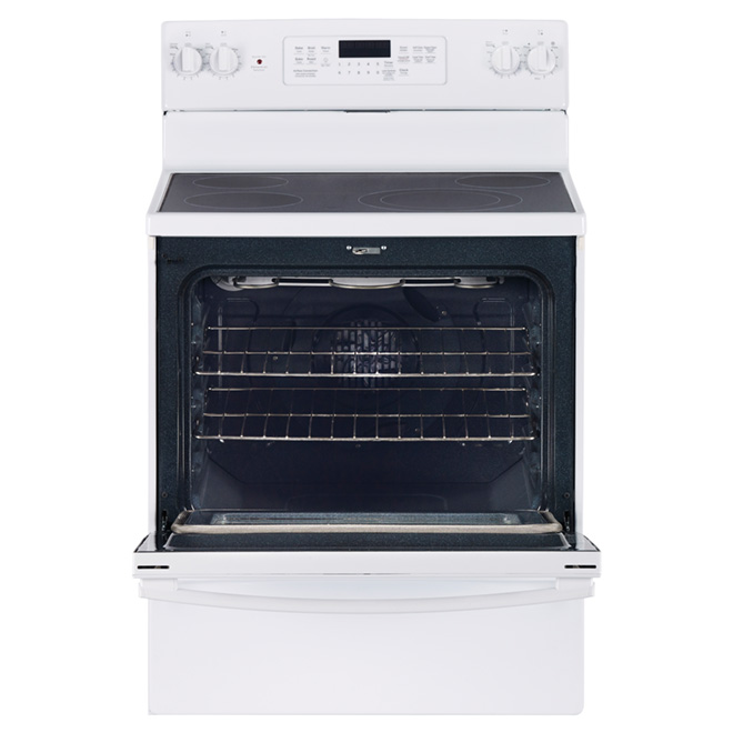Electric Convection Range - 5 cu. ft. - White