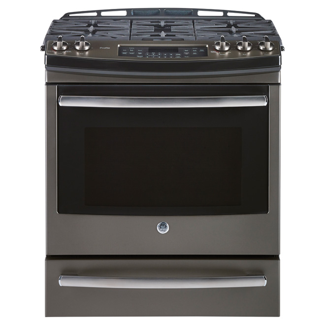 Slide-in Dual-Fuel Range - 5.9 cu. ft. - Slate