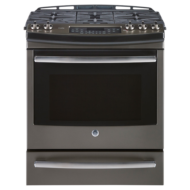 Slide-in Gas Range - 5.4 cu. ft. - Slate