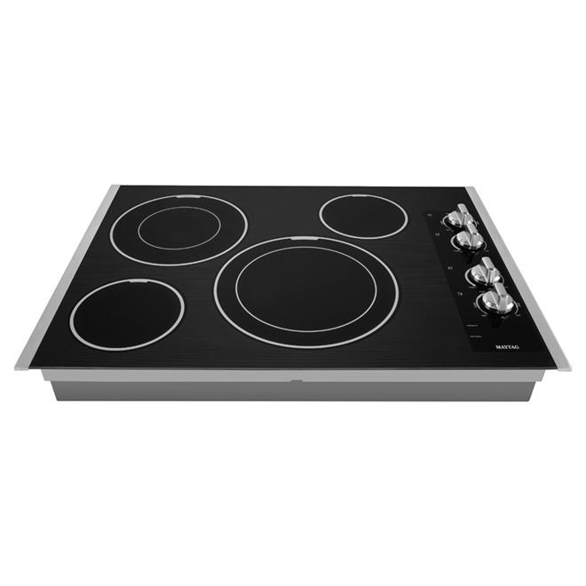 "30"" Electric Built-in Cooktop - Stainless Steel"