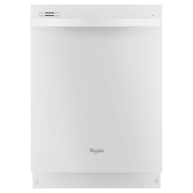 "24"" Built-in Dishwasher with Silverware Spray - White"
