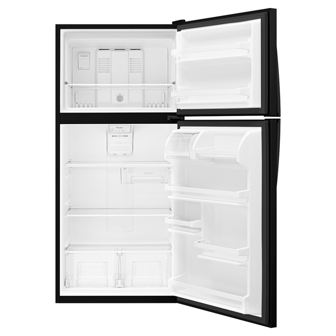 "Top-Freezer Refrigerator - 30"" - 18.2 cu. ft. - Black"