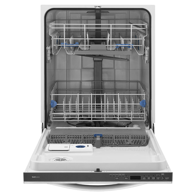 "24"" Built-in Dishwasher with Silverware Spray - Black Ice"