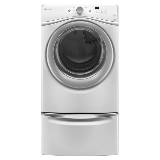 Electric Dryer with Efficiency Monitor 7.3 cu.ft. - White