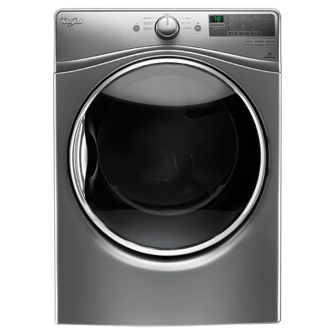 Gas Dryer with EcoBoost(TM)™ - 7.4 cu. ft - Chrome Shadow