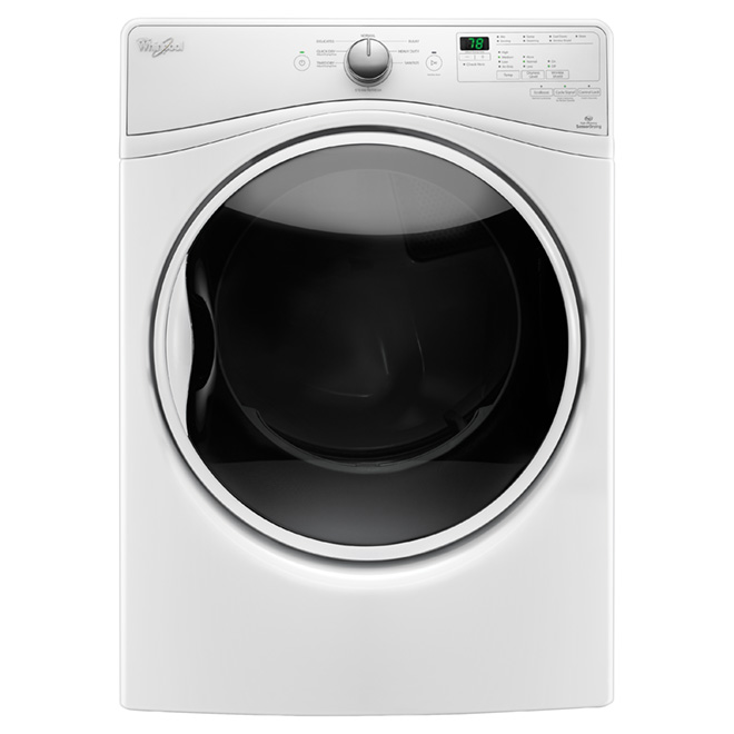 Gas Dryer with EcoBoost™(TM) - 7.4 cu. ft - White