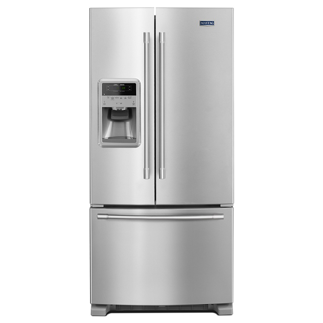 Refrigerator with BeverageChiller™ - 21.7 cu. ft. -Stainless