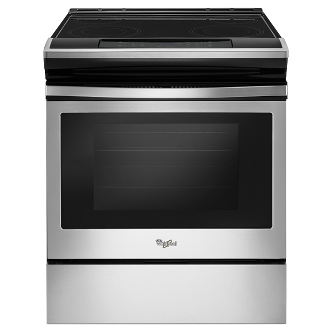 Slide-In Electric Range - 4.8 cu. ft. - Stainless Steel