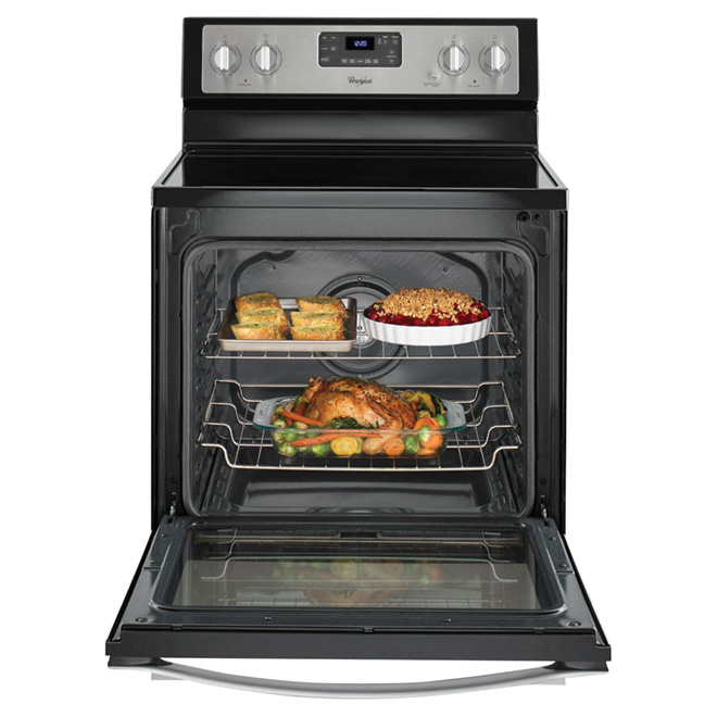Electric Convection Range - 6.4 cu. ft. - Stainless Steel