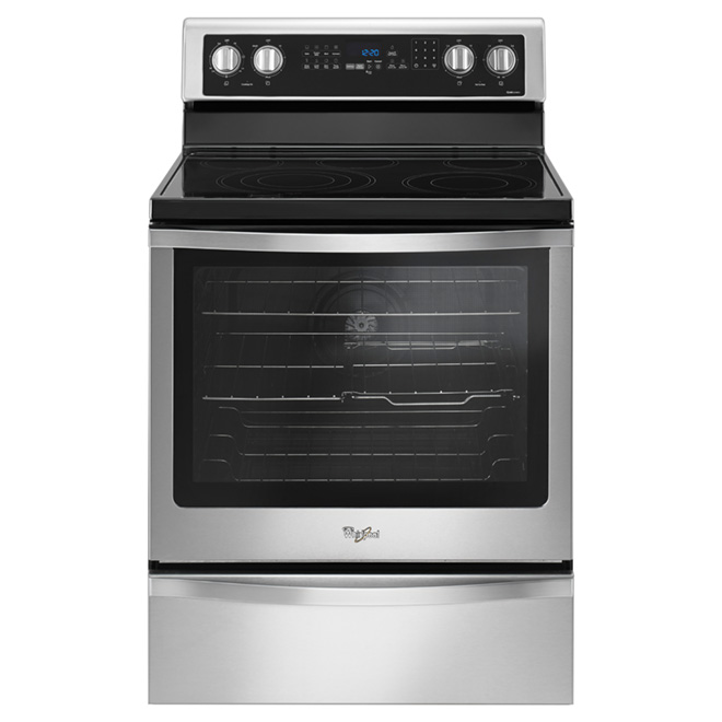 Freestanding Electric Range - 6.4 cu. ft. - Stainless Steel