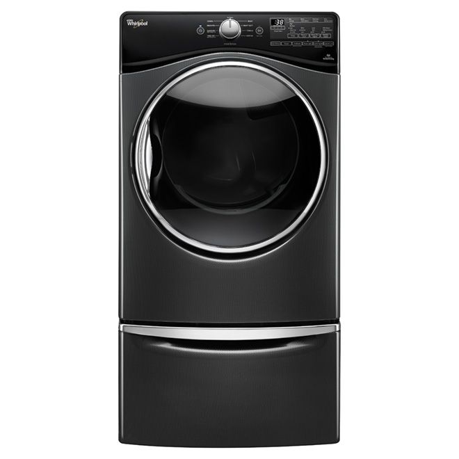Electric Dryer with EcoBoost(TM) - 7.4 cu. ft - Black