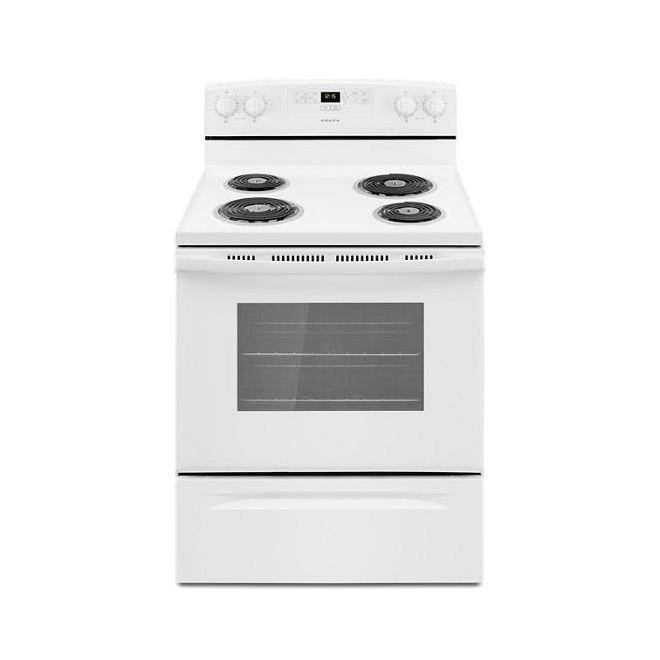"Freestanding Electric Range 30"" - White"