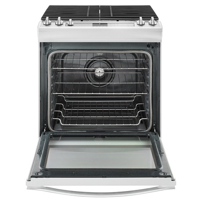 Slide-in Gas Range - 5.8 cu. ft. - White
