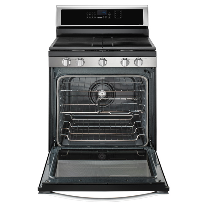 Freestanding Gas Range - 5.8 cu. ft. - Stainless Steel