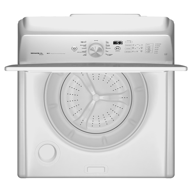 Top Load Washer with PowerWash(R) - 5.5 cu. ft. - White