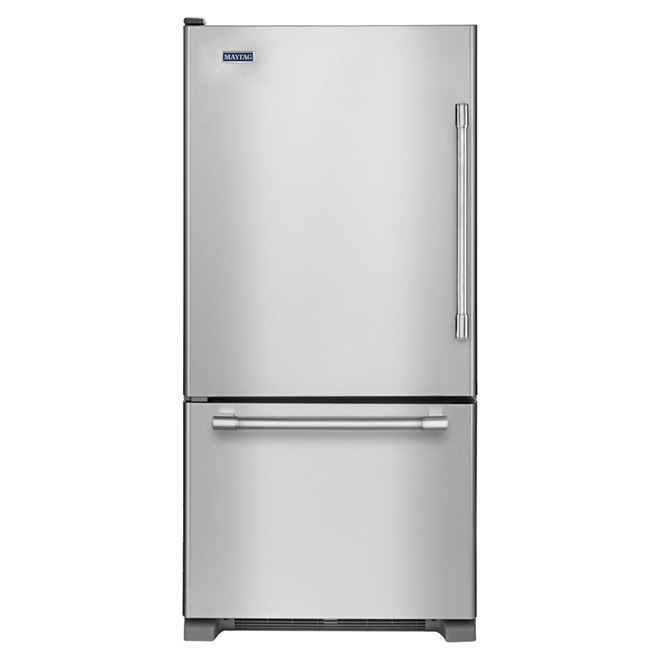 Bottom Freezer Refrigerator 30 Quot 18 7 Ft 179 Stainless
