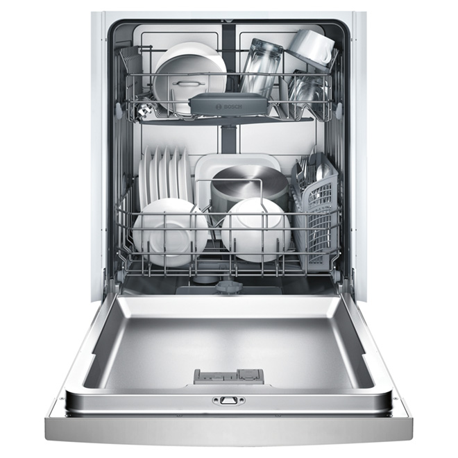 "24"" Ascenta Dishwasher with Recessed Handle - Stainless Steel"