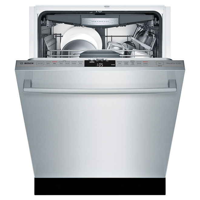 "Dishwasher with RackMatic® System- 24"" -Stainless Steel"