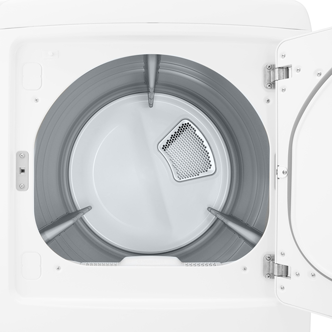 Electric Dryer with Wrinkle Shield(TM)- 7.3 cu. ft. - White