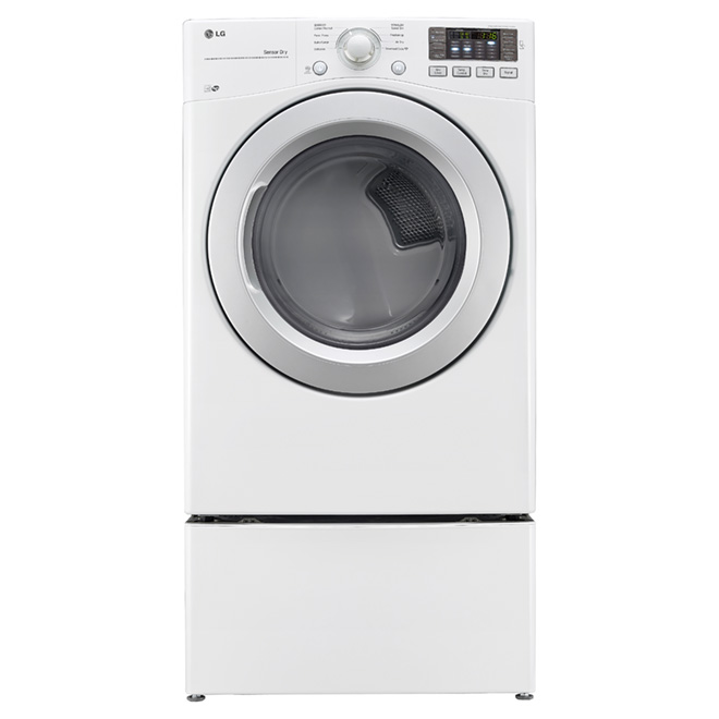 Electric Dryer with LoDecibel(TM) - 7.4 cu. ft - White