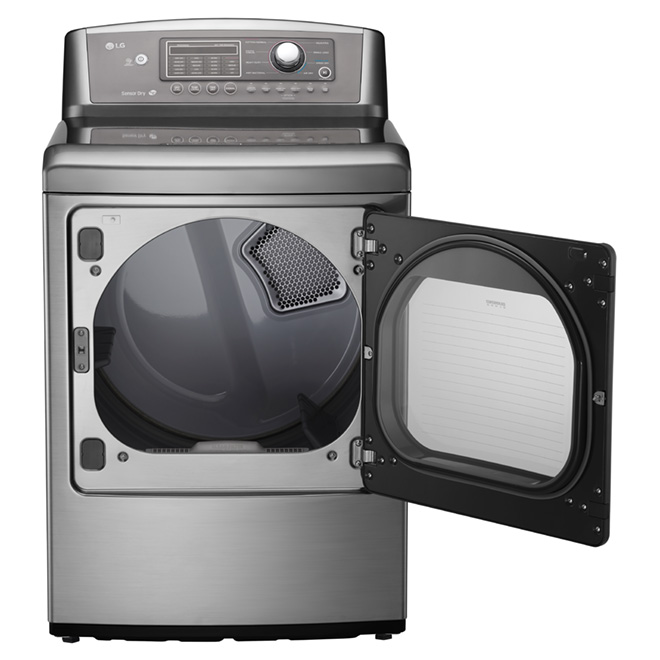 Electric Dryer with Sensor Dry - 7.3 cu. ft - Graphite Steel