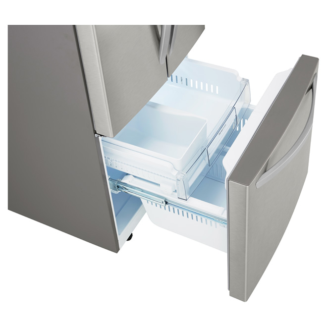 French Doors Refrigerator 21.8 cu. ft. - Stainless