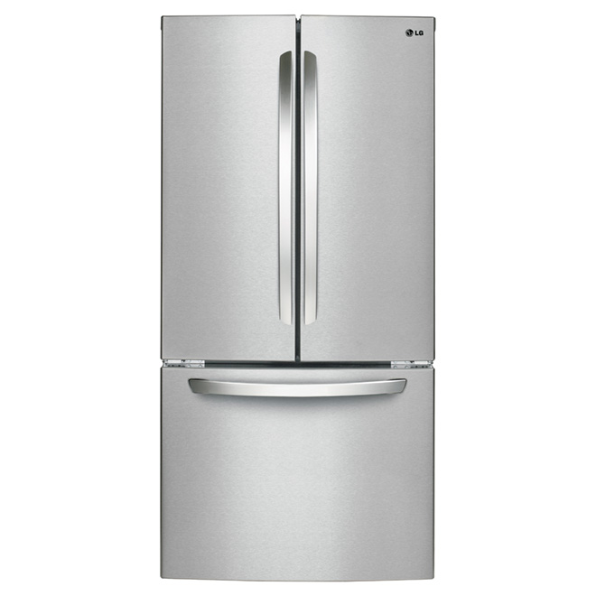 French Doors Refrigerator 23.9 cu. ft. - Stainless