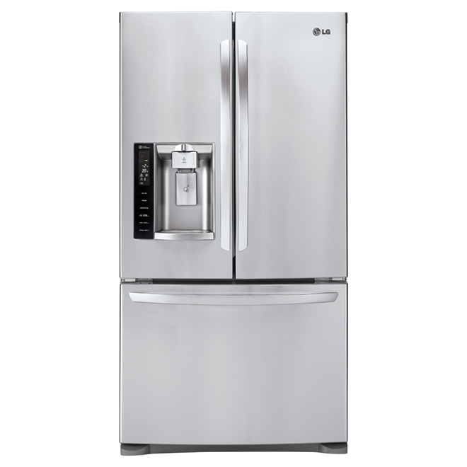 French Doors Refrigerator 27.6 cu. ft. - Stainless