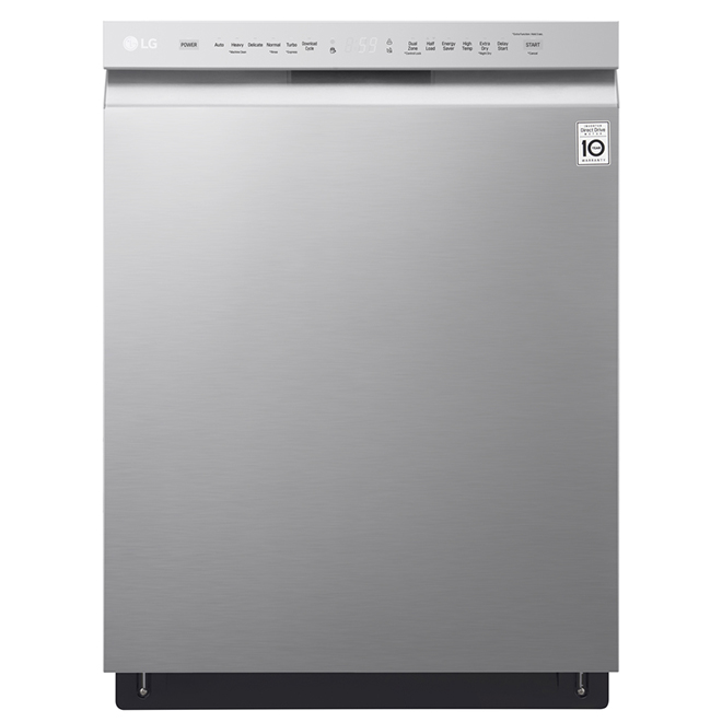 "Dishwasher with Quadwash™ System 24"" - Stainless Steel"