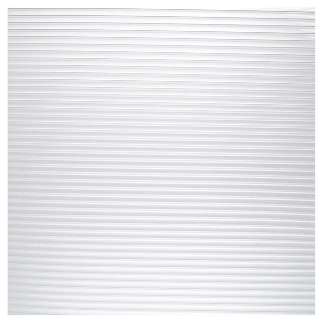 "Non-adhesive Shelf Liner - 12"" x 6' - Clear"