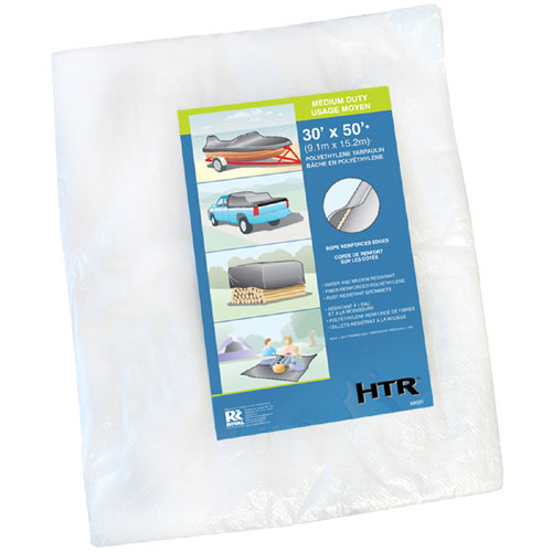 Medium-Duty Tarp - 30' x 50'