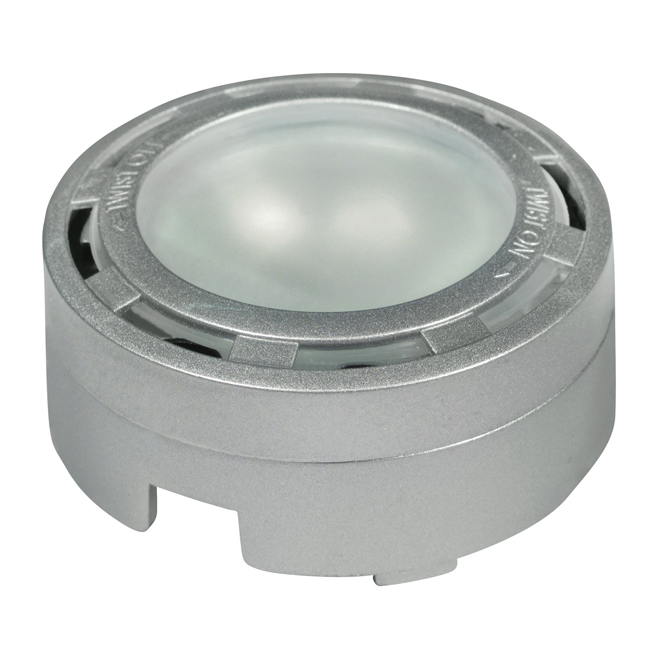 Under cabinet halogen puck