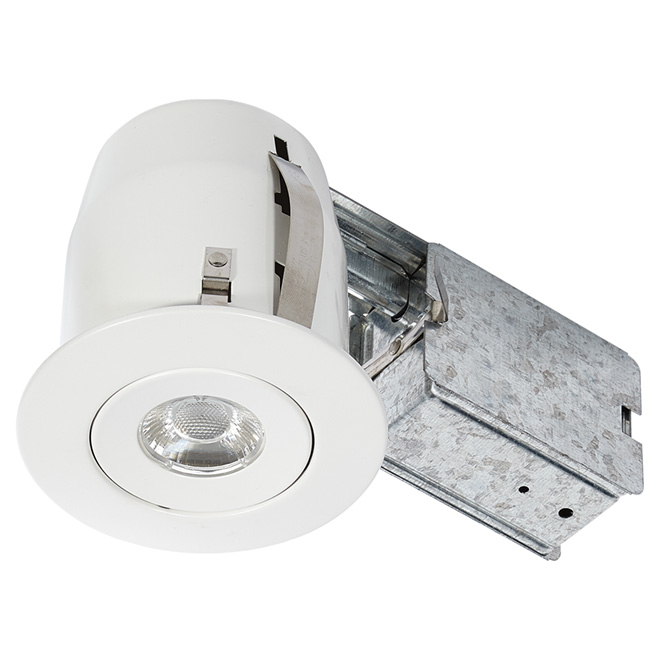 LED Recessed Light - 8 W - Flat White