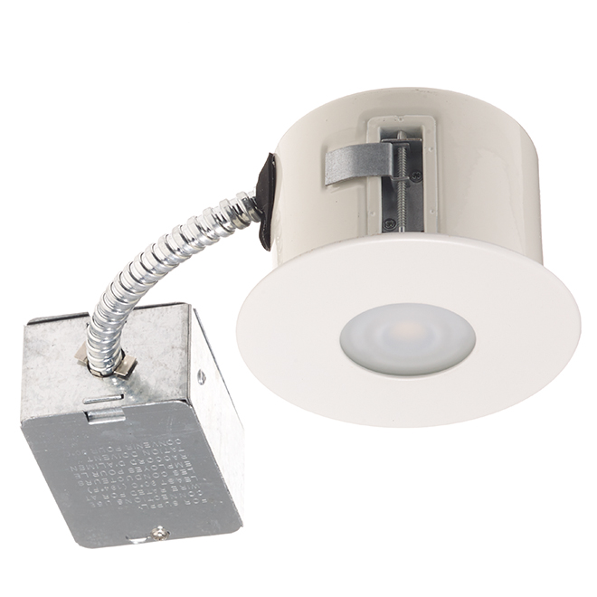 Recessed shower light 7w led 3 78 matte white rona recessed shower light 7w led 3 78 matte white mozeypictures Image collections