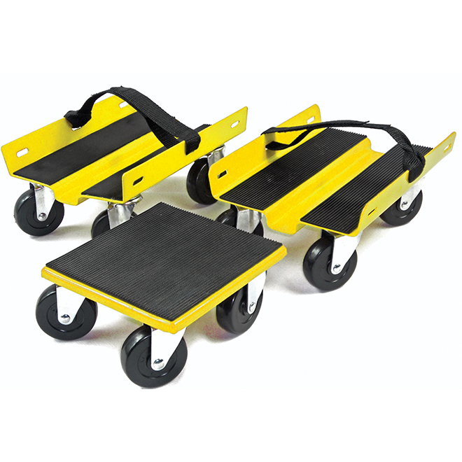 Set Of 3 Dollies With Wheels Rona