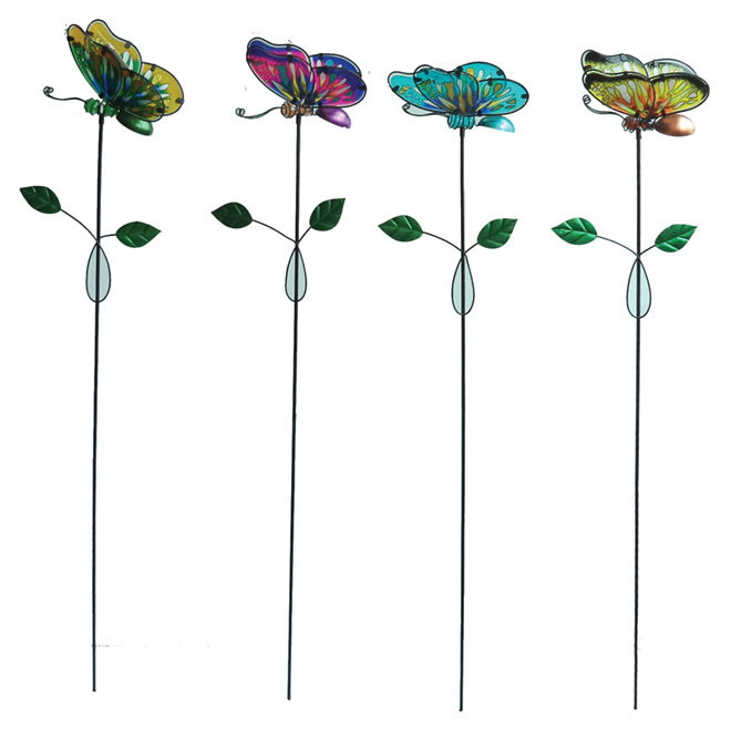 "Garden Stake - ""Butterfly"" - 48"" - Assorted"