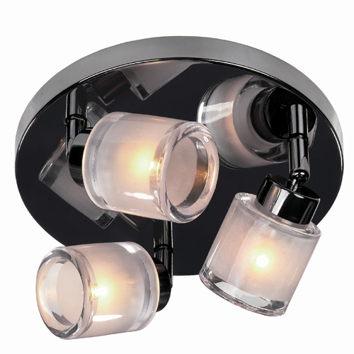"""Laidy"" 3-light ceiling fixture"
