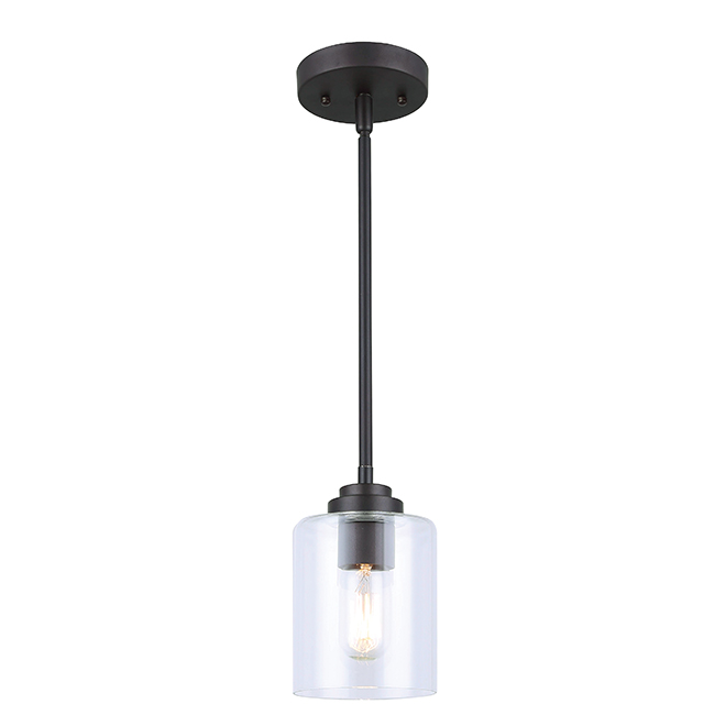 Luminaire suspendu 1 lumi re montebello bronze huil for Globe luminaire interieur