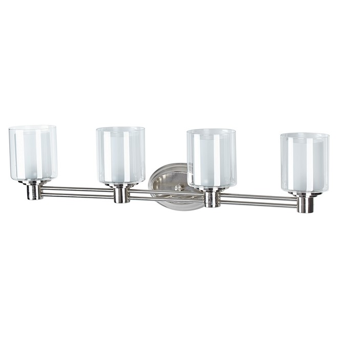 Wall Lamps Rona : Perth 4-lights Wallsconce - Brushed Nickel RONA