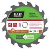 6 1/2-IN CIRCULAR SAW BLADE 16TH
