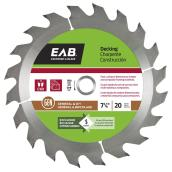 7-IN CIRCULAR SAW BLADE 20TH