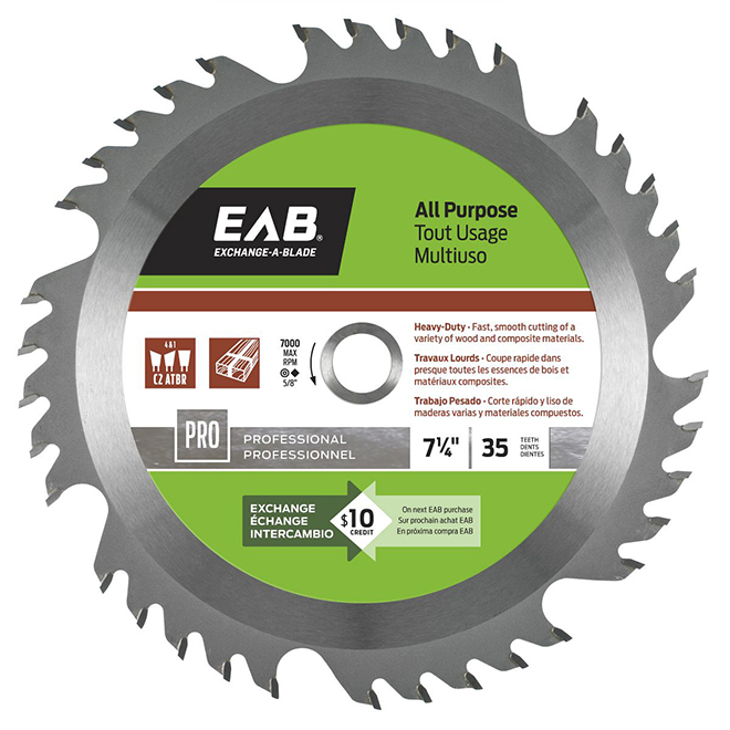 ALL-PURPOSE 7-IN BLADE 35TH