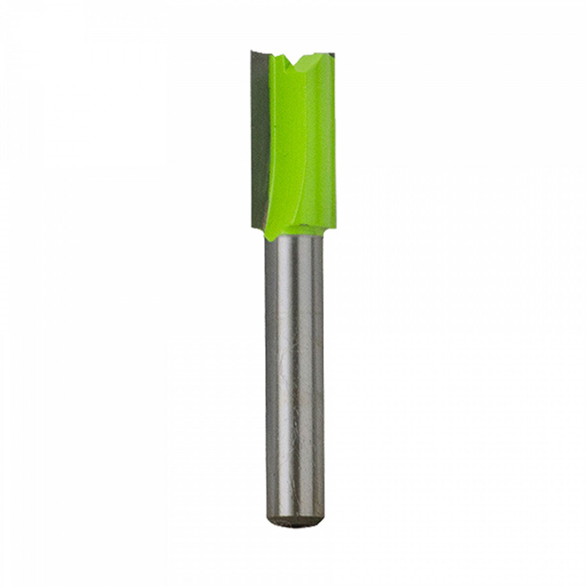"Straight Carbide Router Bit - 3/8"" x 1/4"""