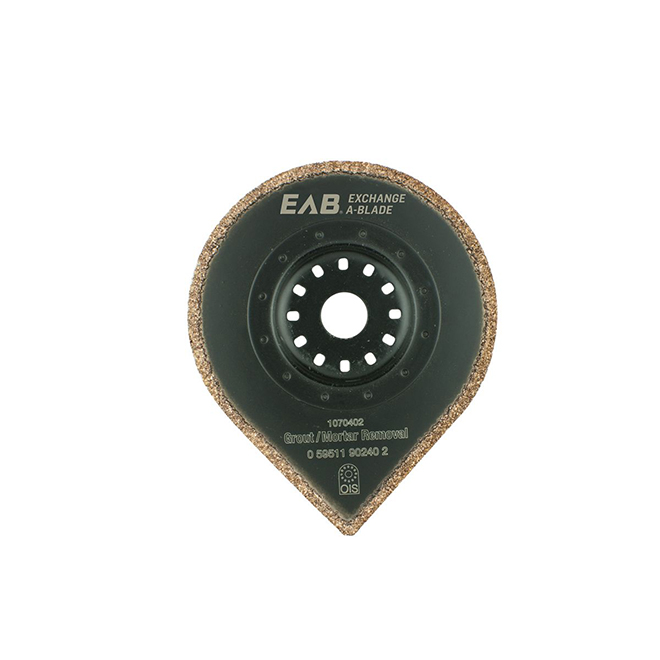 "Grout/Mortar Removal Blade - 2 3/4"" - 40 Grit"