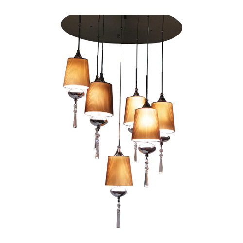 """Versa"" 7-light chandelier"